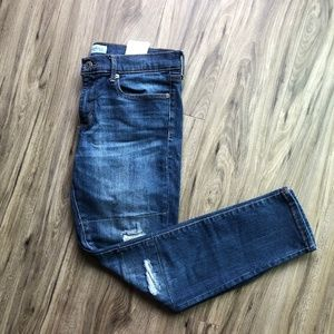 Banana Republic Skinny Ankle Distressed Jeans sz29